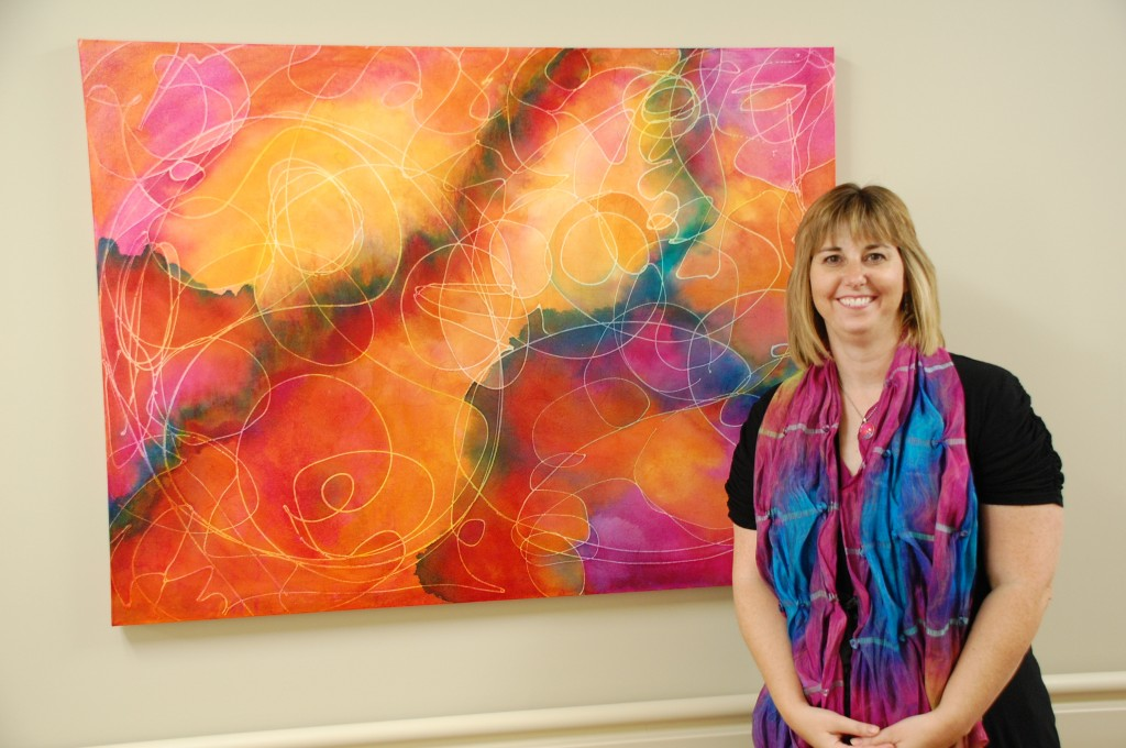 """The Colors of Community"" Commission for Mahaska Health Center, Oskaloosa, IA"