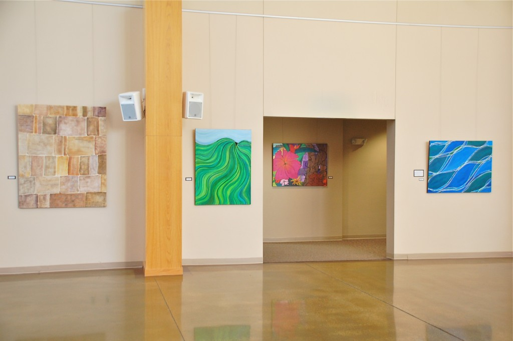 Melynda Van Zee Art Exhibit at Lutheran Church of Hope