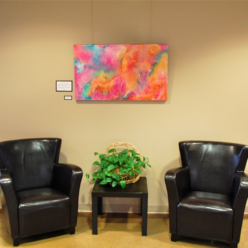 """""""The Calling"""" at Art Exhibit -Lutheran Church of Hope"""