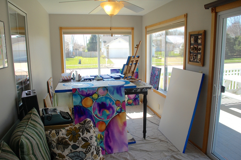 "Artist Melynda Van Zee's new ""Color Studio"" reveal"